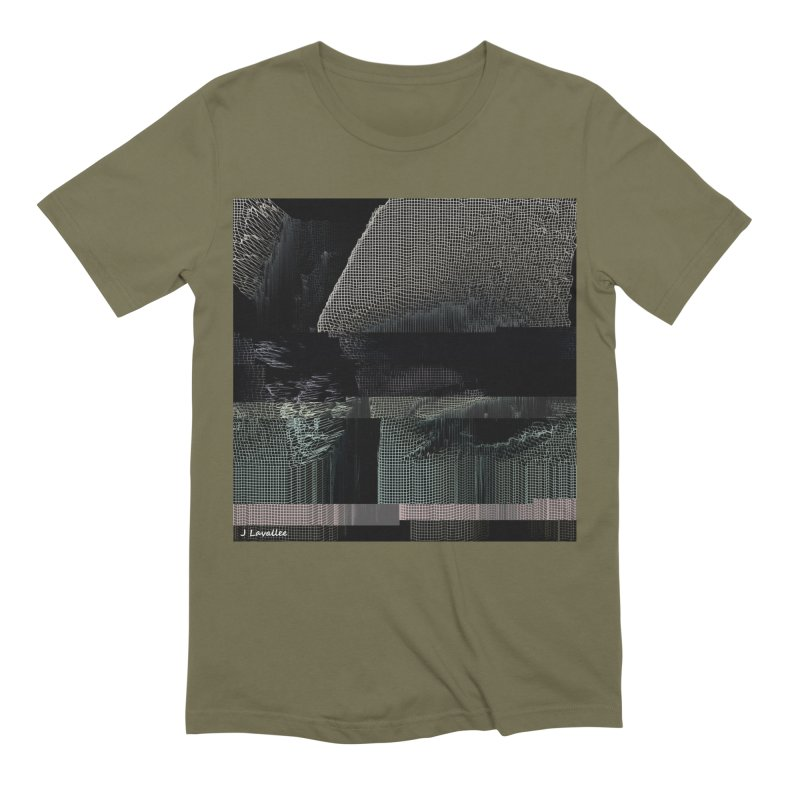the simulation Men's Extra Soft T-Shirt by J. Lavallee's Artist Shop