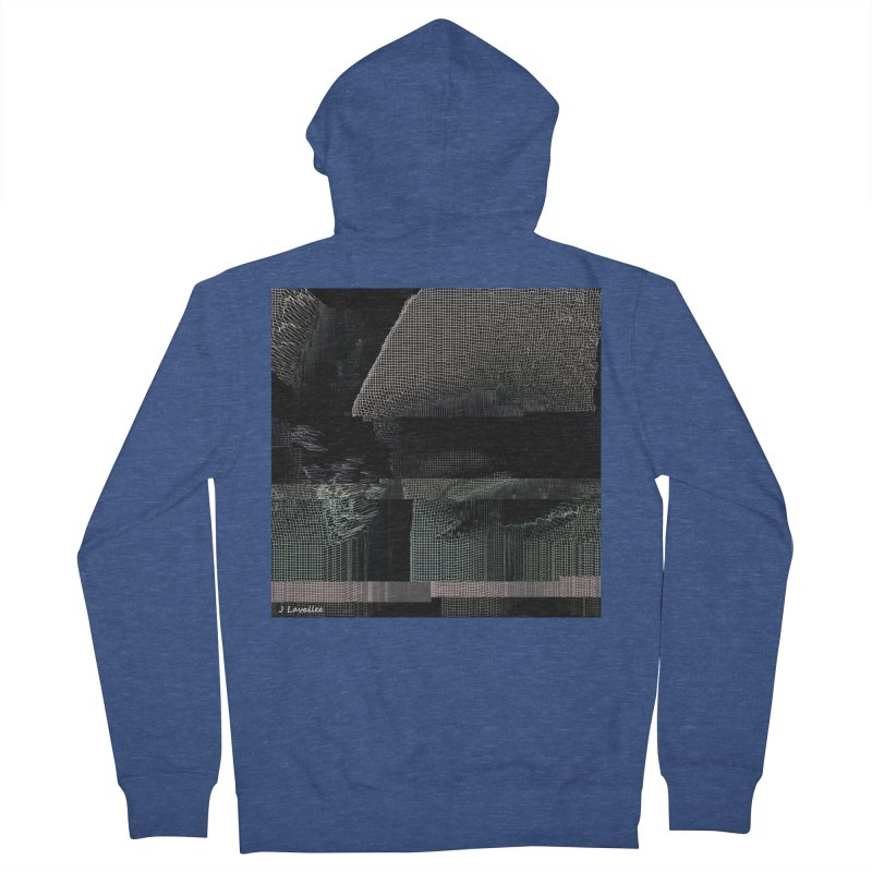 the simulation Men's French Terry Zip-Up Hoody by J. Lavallee's Artist Shop