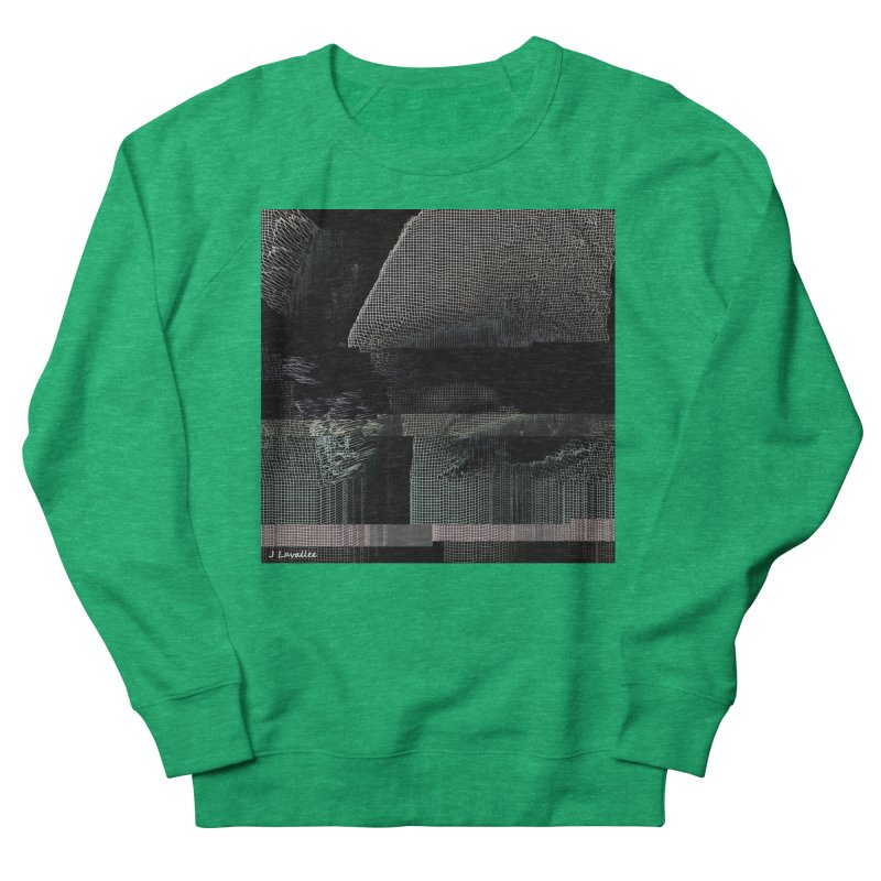 the simulation Women's French Terry Sweatshirt by J. Lavallee's Artist Shop