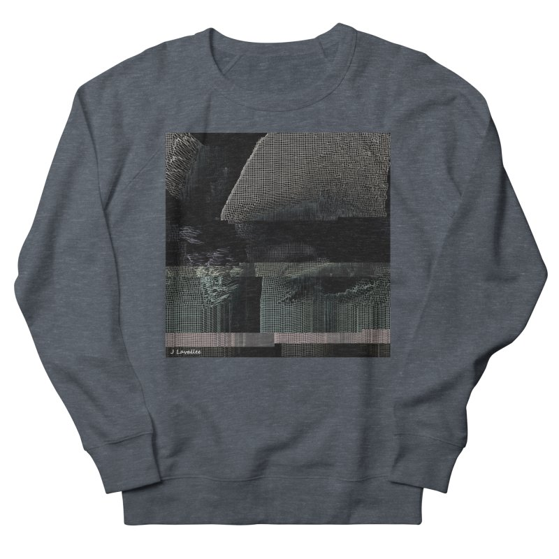 the simulation Men's French Terry Sweatshirt by J. Lavallee's Artist Shop