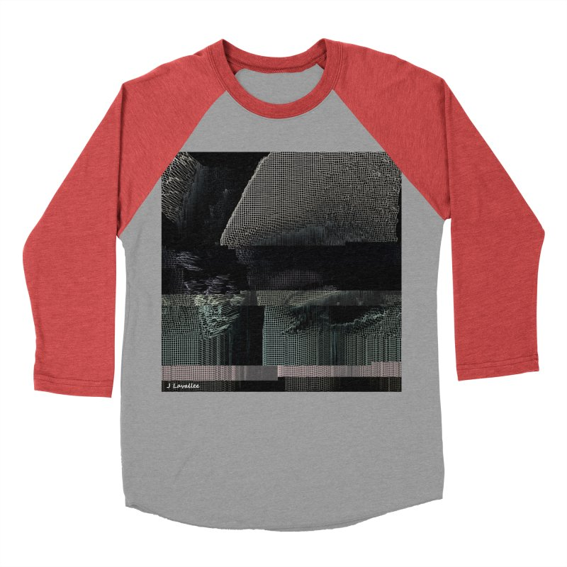 the simulation Men's Baseball Triblend Longsleeve T-Shirt by J. Lavallee's Artist Shop