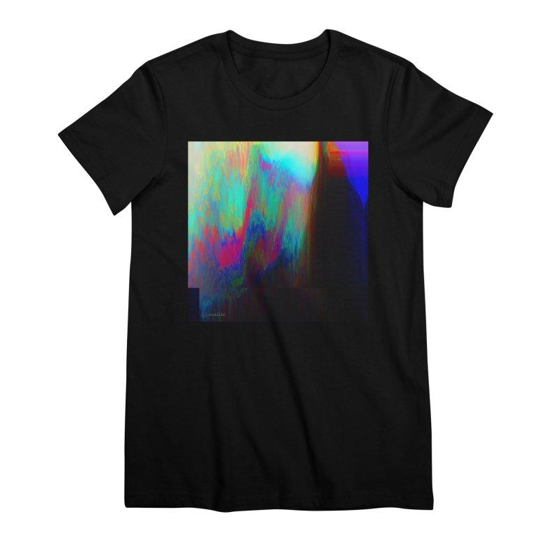 the melting Women's Premium T-Shirt by J. Lavallee's Artist Shop