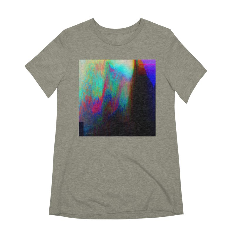 the melting Women's Extra Soft T-Shirt by J. Lavallee's Artist Shop