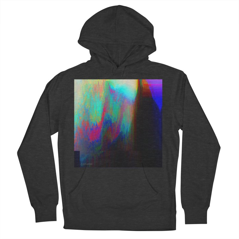 the melting Men's French Terry Pullover Hoody by J. Lavallee's Artist Shop