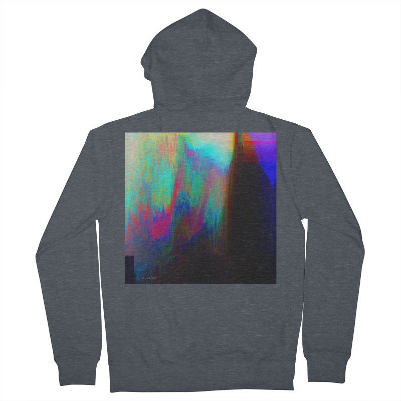 the melting Women's French Terry Zip-Up Hoody by J. Lavallee's Artist Shop