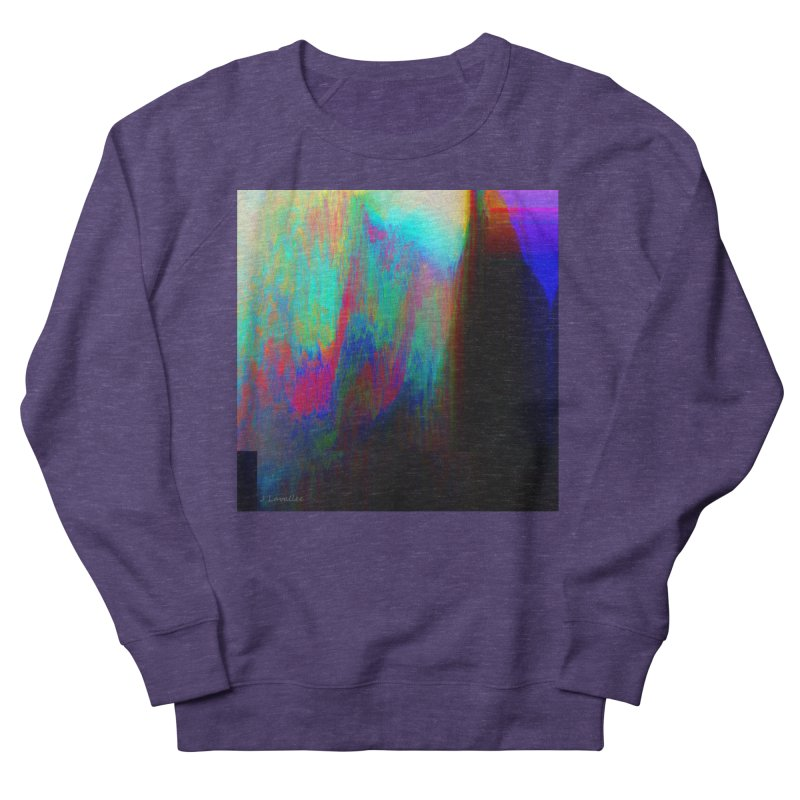 the melting Women's French Terry Sweatshirt by J. Lavallee's Artist Shop
