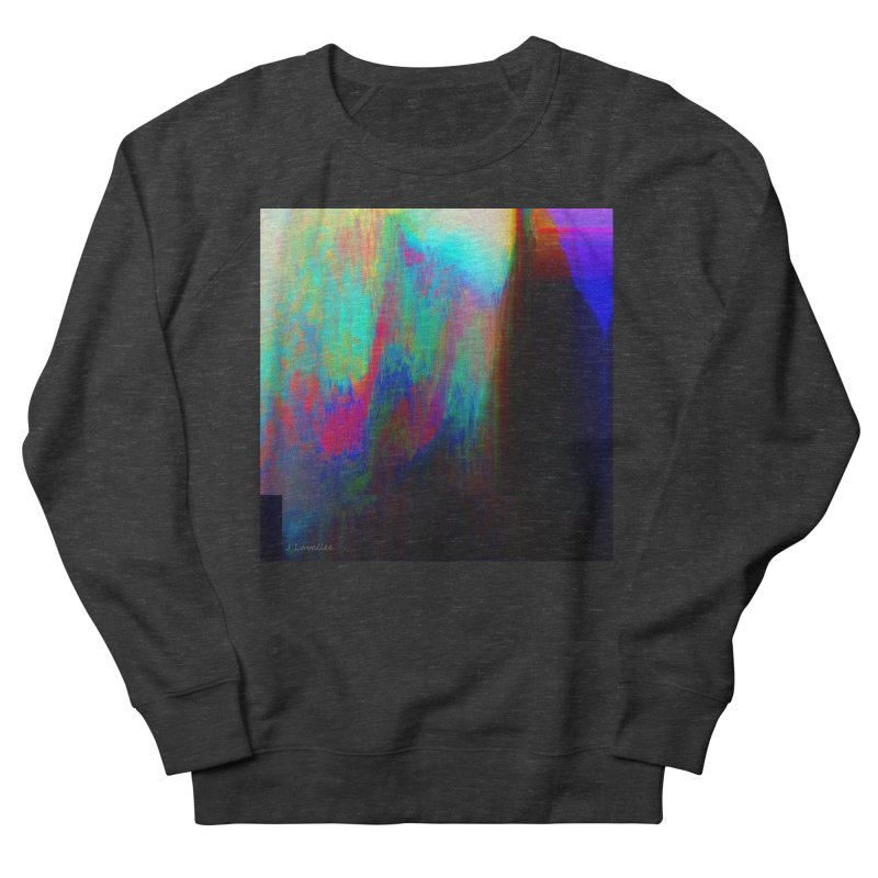 the melting Men's French Terry Sweatshirt by J. Lavallee's Artist Shop