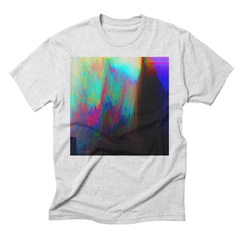 the melting Men's Triblend T-Shirt by J. Lavallee's Artist Shop