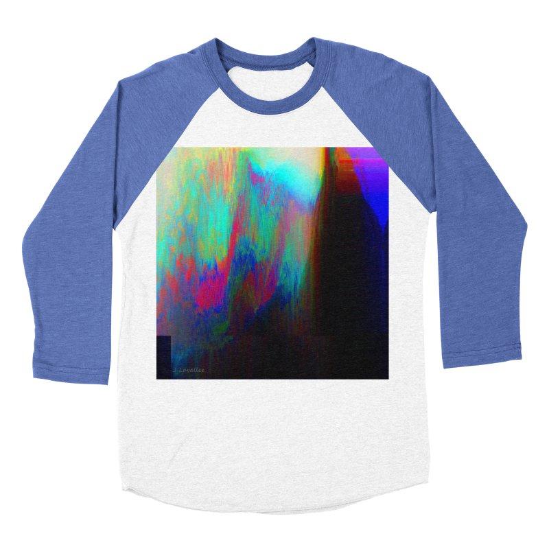 the melting Men's Baseball Triblend Longsleeve T-Shirt by J. Lavallee's Artist Shop