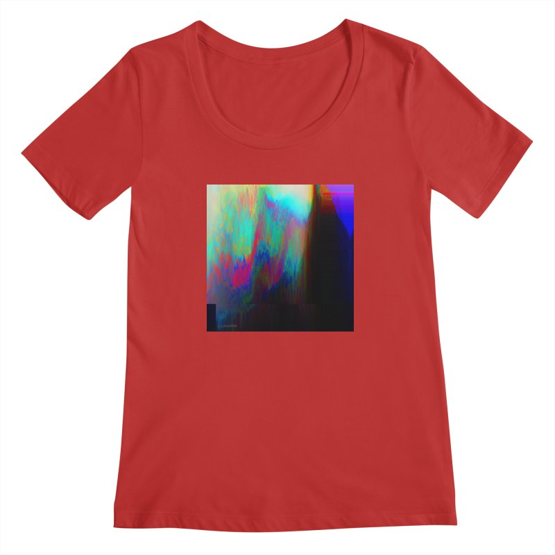 the melting Women's Regular Scoop Neck by J. Lavallee's Artist Shop