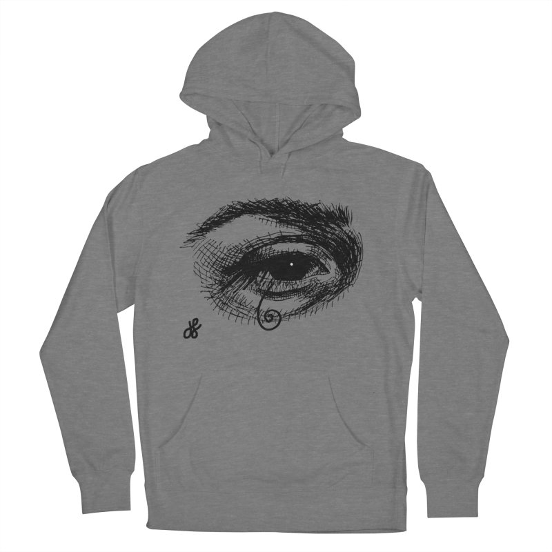 you don't wanna know Men's French Terry Pullover Hoody by J. Lavallee's Artist Shop