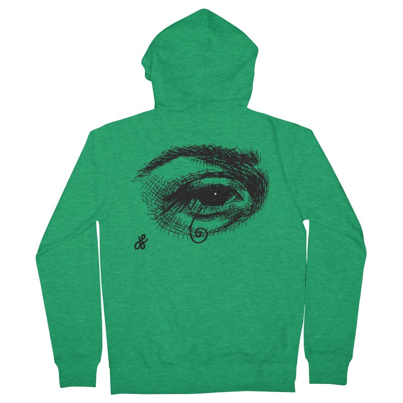 you don't wanna know Men's French Terry Zip-Up Hoody by J. Lavallee's Artist Shop