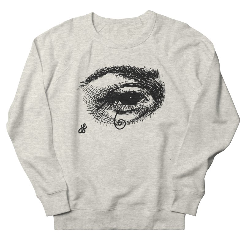 you don't wanna know Men's French Terry Sweatshirt by J. Lavallee's Artist Shop
