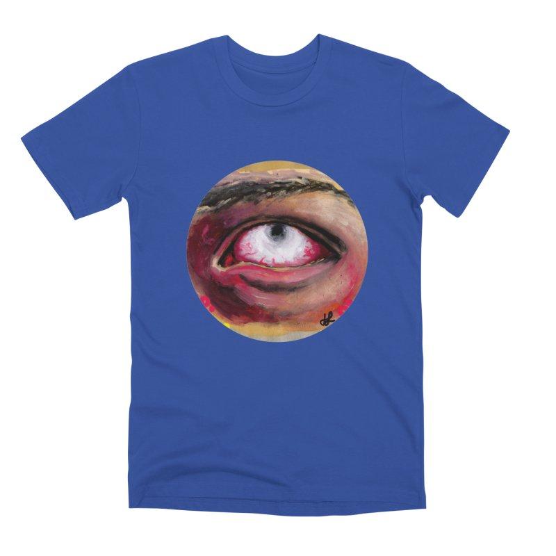"""""""demon of fatigue"""" Men's Premium T-Shirt by J. Lavallee's Artist Shop"""
