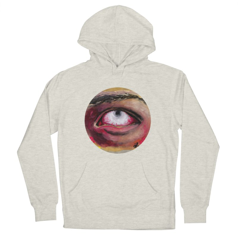 """""""demon of fatigue"""" Women's French Terry Pullover Hoody by J. Lavallee's Artist Shop"""