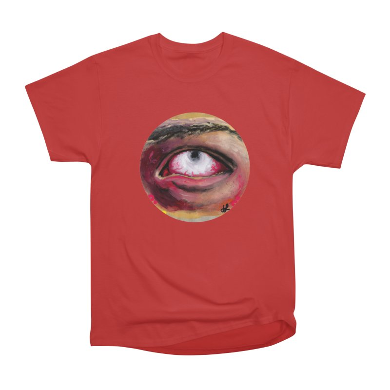 """demon of fatigue"" Men's Heavyweight T-Shirt by J. Lavallee's Artist Shop"