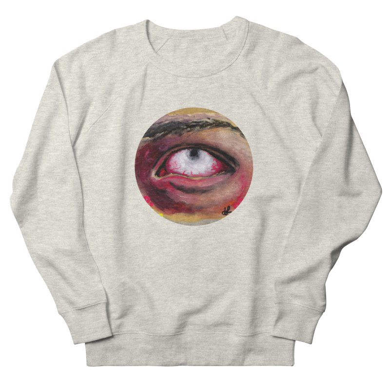 """""""demon of fatigue"""" Women's French Terry Sweatshirt by J. Lavallee's Artist Shop"""
