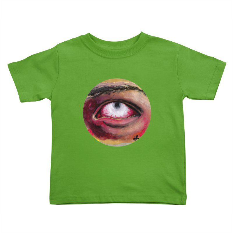 """demon of fatigue"" Kids Toddler T-Shirt by J. Lavallee's Artist Shop"