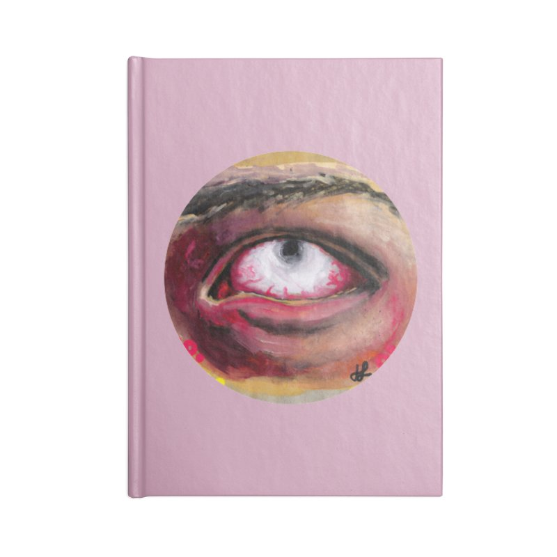 """demon of fatigue"" Accessories Blank Journal Notebook by J. Lavallee's Artist Shop"