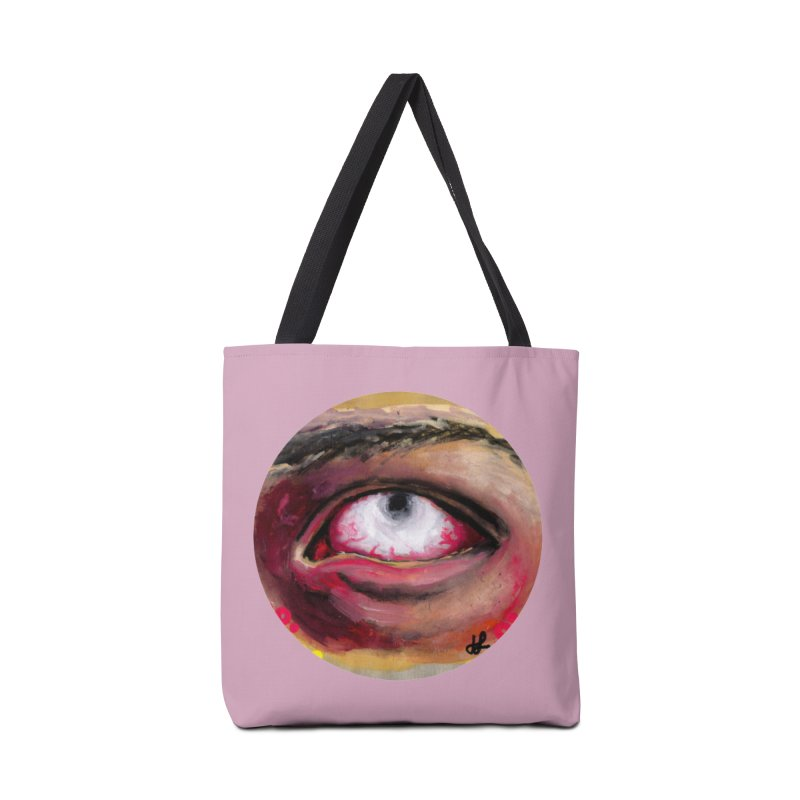 """demon of fatigue"" Accessories Tote Bag Bag by J. Lavallee's Artist Shop"