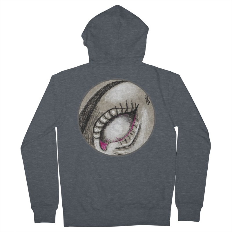 """soulless"" redesign Women's French Terry Zip-Up Hoody by J. Lavallee's Artist Shop"
