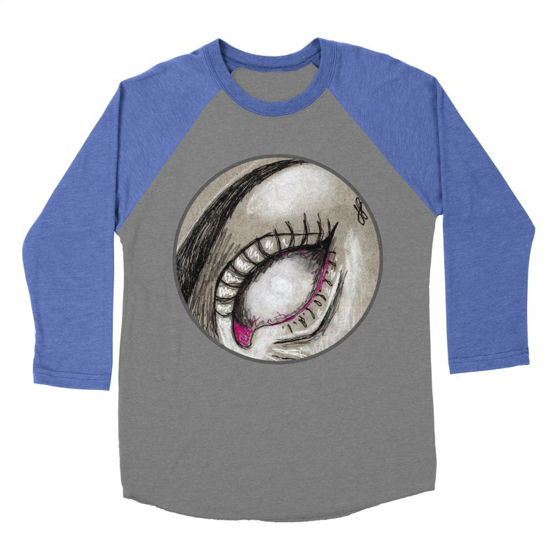 """soulless"" redesign Women's Baseball Triblend Longsleeve T-Shirt by J. Lavallee's Artist Shop"