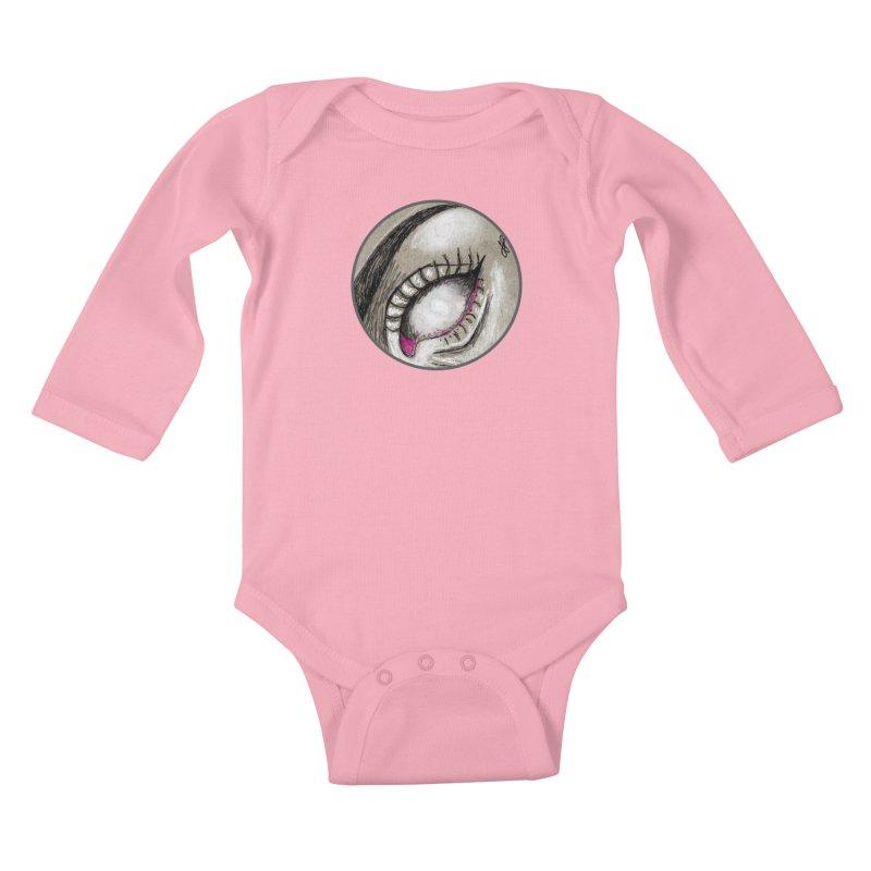 """soulless"" redesign Kids Baby Longsleeve Bodysuit by J. Lavallee's Artist Shop"