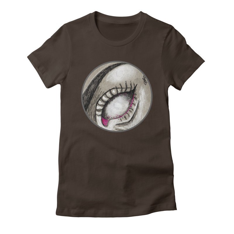 """""""soulless"""" redesign Women's Fitted T-Shirt by J. Lavallee's Artist Shop"""