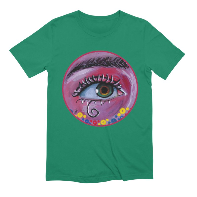 """eye of the possum"" redesign Men's Extra Soft T-Shirt by J. Lavallee's Artist Shop"