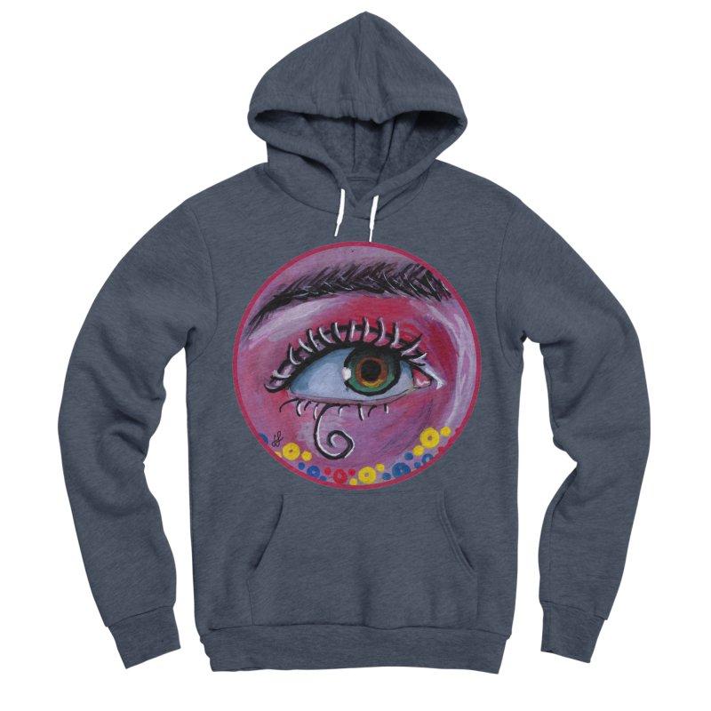 """eye of the possum"" redesign Women's Sponge Fleece Pullover Hoody by J. Lavallee's Artist Shop"