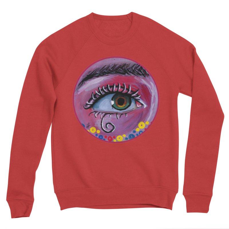 """eye of the possum"" redesign Women's Sponge Fleece Sweatshirt by J. Lavallee's Artist Shop"