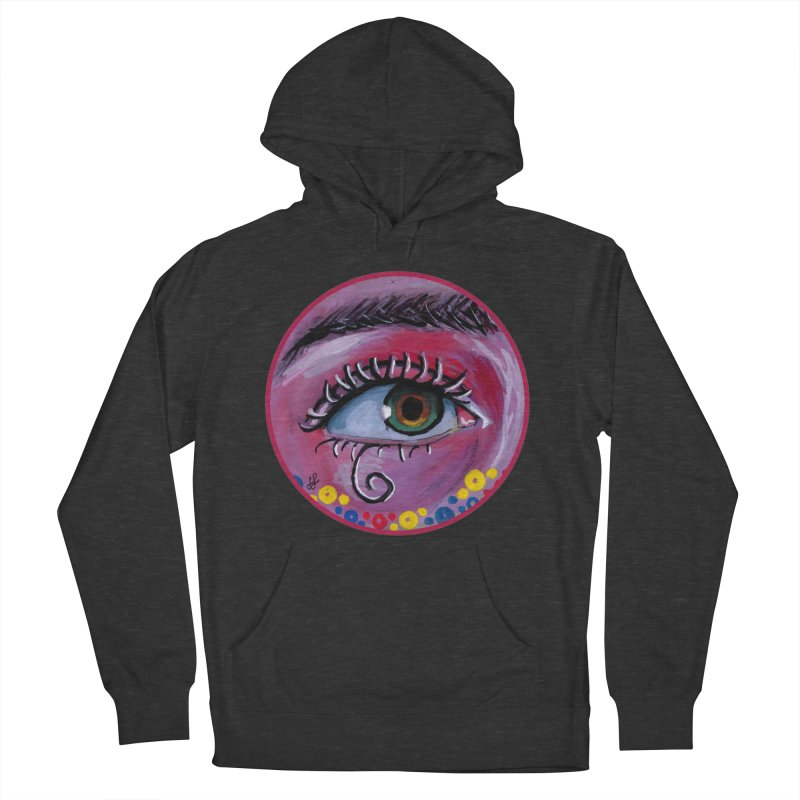 """""""eye of the possum"""" redesign Women's French Terry Pullover Hoody by J. Lavallee's Artist Shop"""