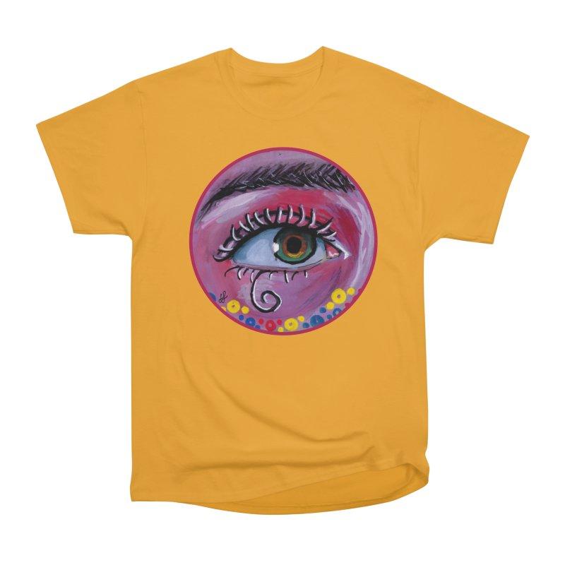 """eye of the possum"" redesign Women's Heavyweight Unisex T-Shirt by J. Lavallee's Artist Shop"