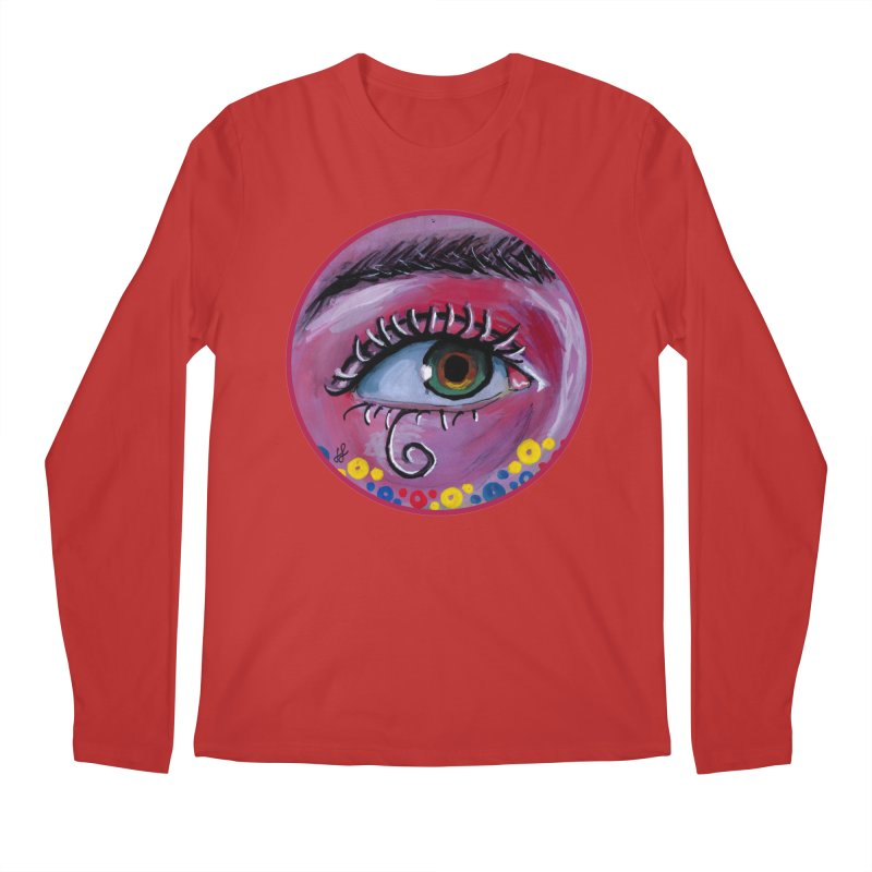 """eye of the possum"" redesign Men's Regular Longsleeve T-Shirt by J. Lavallee's Artist Shop"