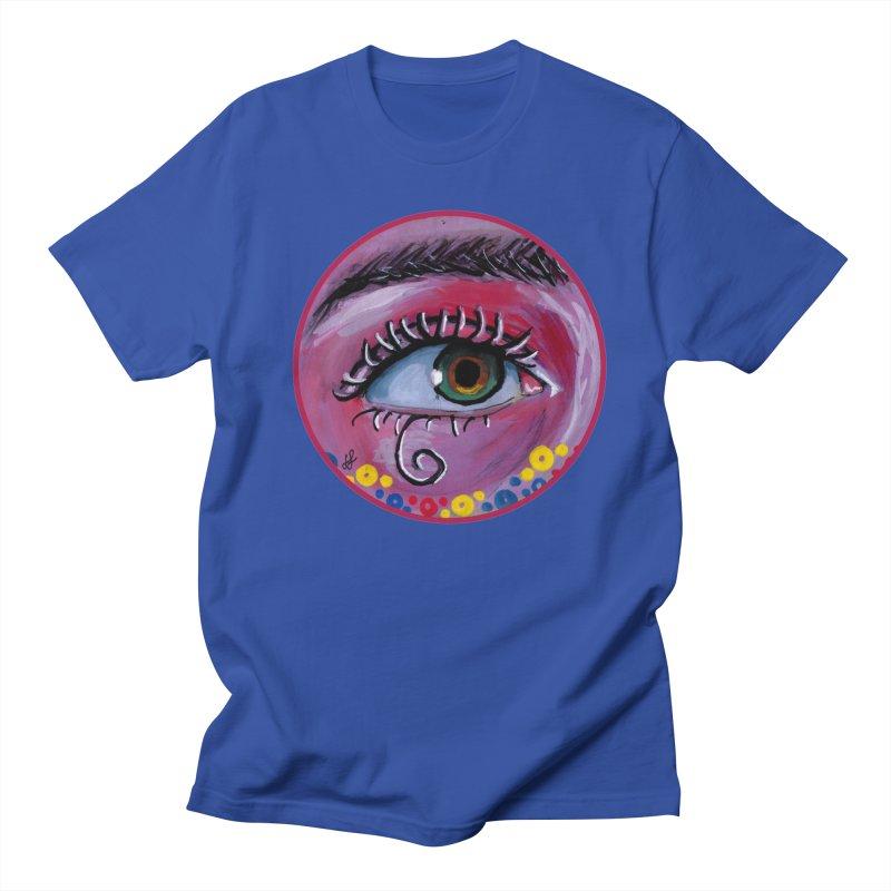 """eye of the possum"" redesign Men's Regular T-Shirt by J. Lavallee's Artist Shop"