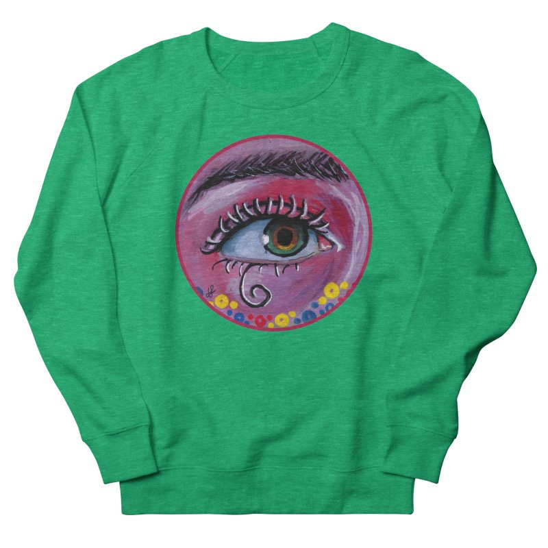 """""""eye of the possum"""" redesign Women's French Terry Sweatshirt by J. Lavallee's Artist Shop"""