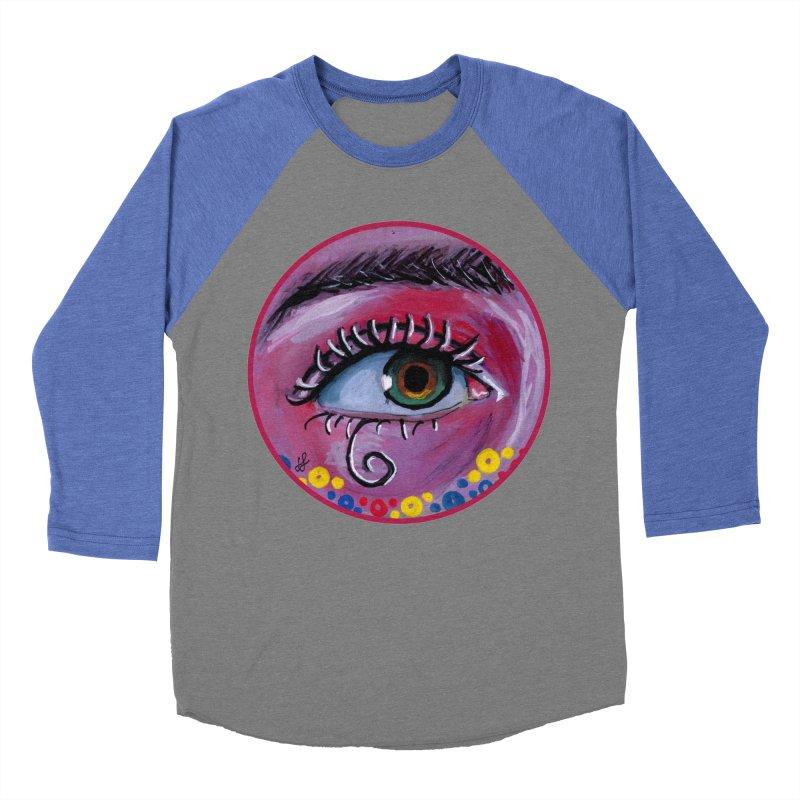 """eye of the possum"" redesign Women's Baseball Triblend Longsleeve T-Shirt by J. Lavallee's Artist Shop"