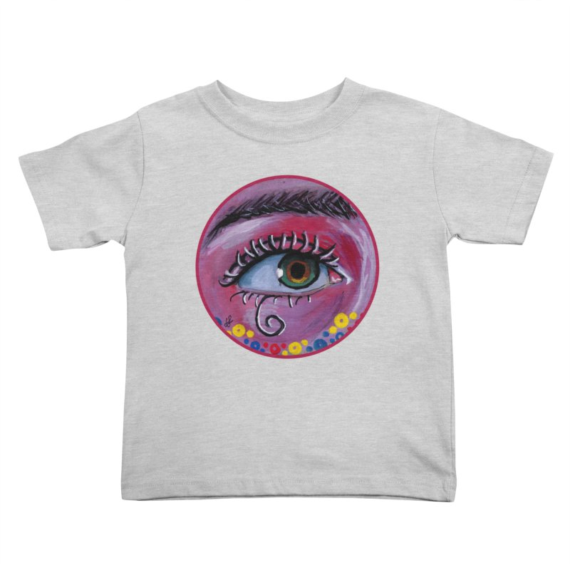 """""""eye of the possum"""" redesign Kids Toddler T-Shirt by J. Lavallee's Artist Shop"""