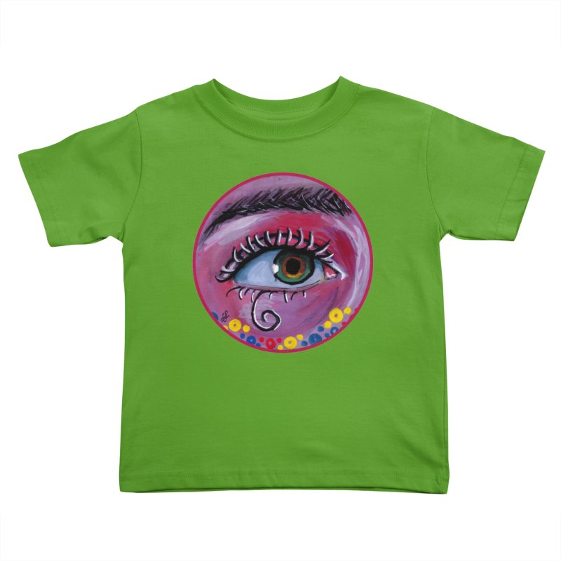"""eye of the possum"" redesign Kids Toddler T-Shirt by J. Lavallee's Artist Shop"