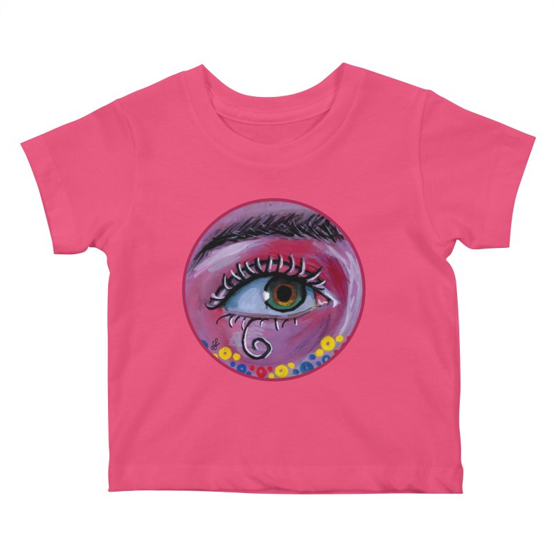 """eye of the possum"" redesign Kids Baby T-Shirt by J. Lavallee's Artist Shop"