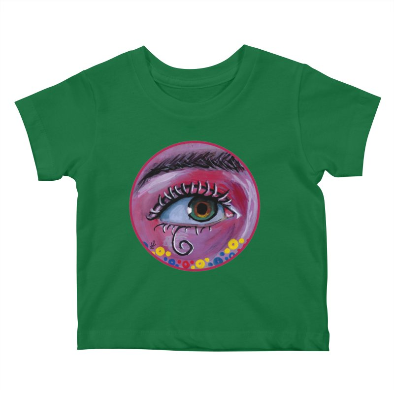 """""""eye of the possum"""" redesign Kids Baby T-Shirt by J. Lavallee's Artist Shop"""