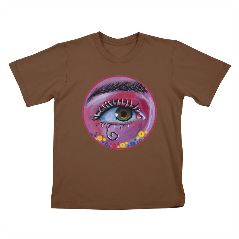 """""""eye of the possum"""" redesign Kids T-Shirt by J. Lavallee's Artist Shop"""