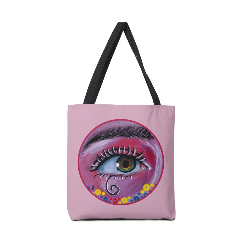 """eye of the possum"" redesign Accessories Tote Bag Bag by J. Lavallee's Artist Shop"