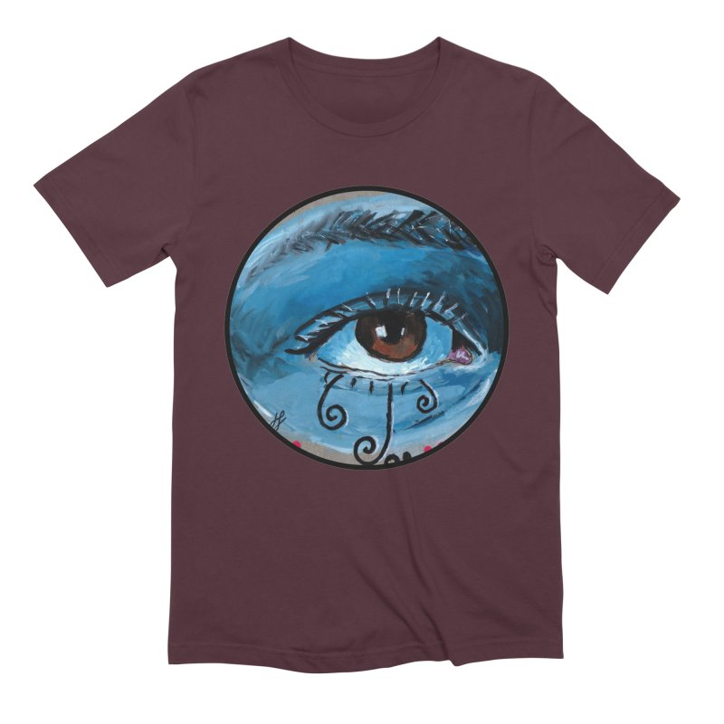 """eye study #1"" redesign Men's Extra Soft T-Shirt by J. Lavallee's Artist Shop"