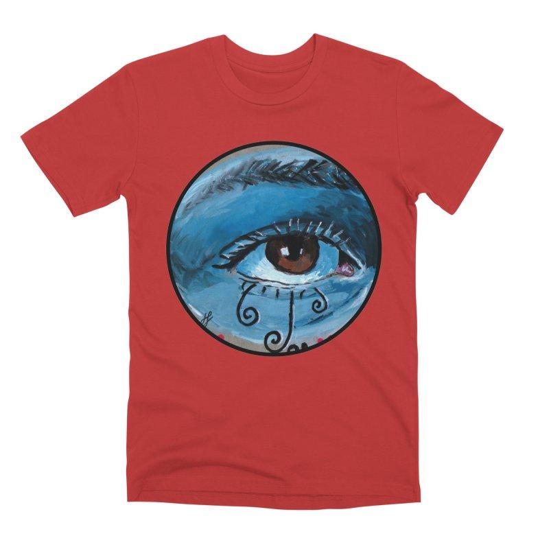 """eye study #1"" redesign Men's Premium T-Shirt by J. Lavallee's Artist Shop"