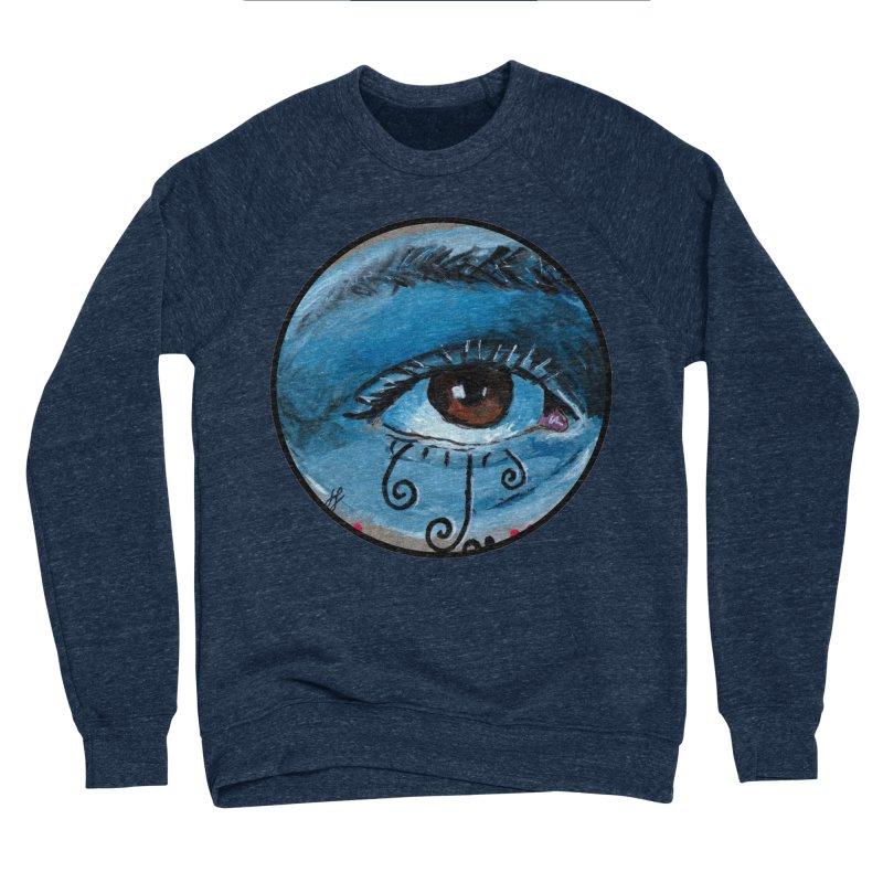 """""""eye study #1"""" redesign Women's Sponge Fleece Sweatshirt by J. Lavallee's Artist Shop"""
