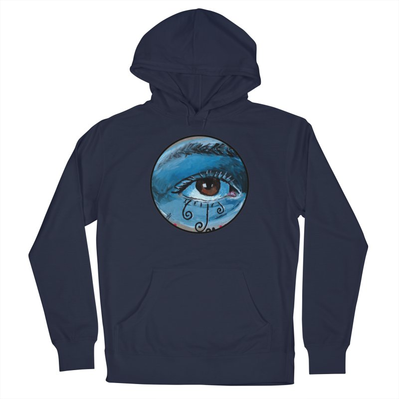 """eye study #1"" redesign Men's Pullover Hoody by J. Lavallee's Artist Shop"