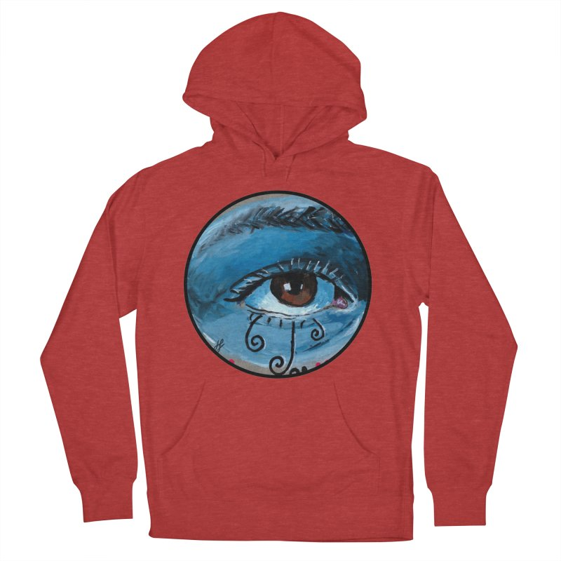 """""""eye study #1"""" redesign Women's French Terry Pullover Hoody by J. Lavallee's Artist Shop"""