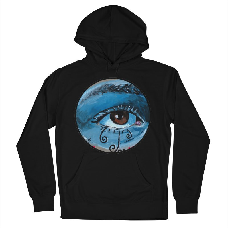 """""""eye study #1"""" redesign Men's French Terry Pullover Hoody by J. Lavallee's Artist Shop"""