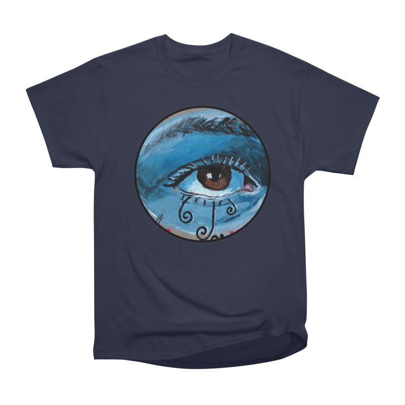 """eye study #1"" redesign Men's Heavyweight T-Shirt by J. Lavallee's Artist Shop"